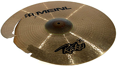 Treated cymbals