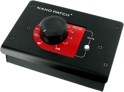 SM Pro Audio Nano Patch Plus black