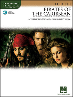 Hal Leonard Pirates Of The Caribbean Cello
