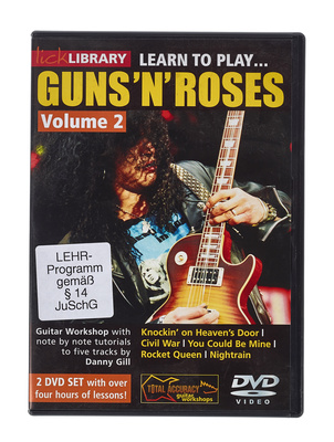Music Sales Learn to Play Guns 'N' Roses 2