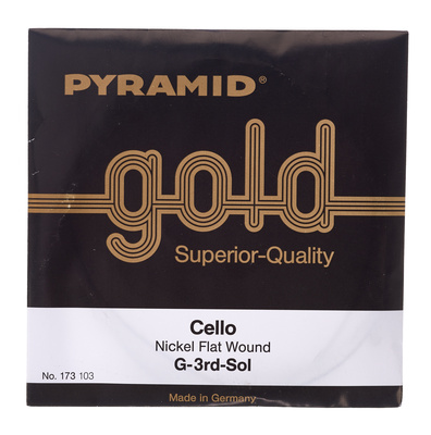 Pyramid Gold Cellosaiten 4/4