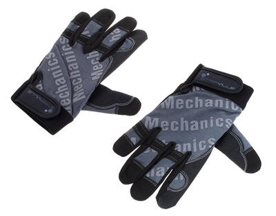 Stairville Mechanic Gloves Grey/Black M