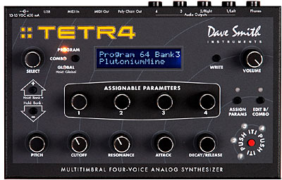 Dave Smith Instruments Tetra