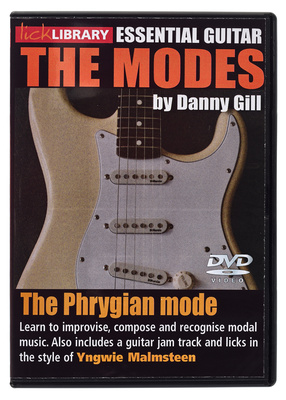 Music Sales Phrygian Mode Yngwie Malmsteen