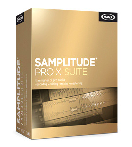Magix Samplitude Pro X Suite English