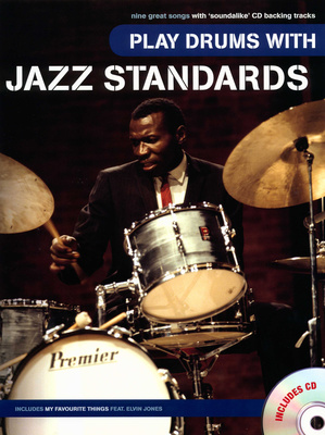 Wise Publications Play Drums With Jazz Standards