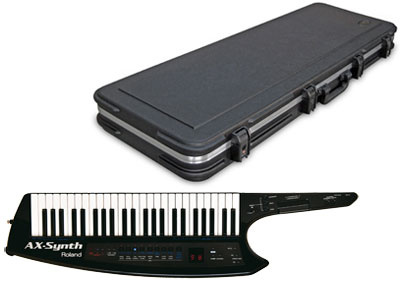 Roland AX Synth Black Case Bundle