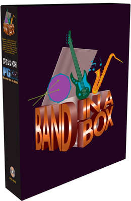 PG Music Band-in-a-Box Mega Mac E