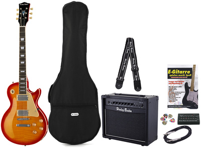 Harley Benton L450 Plus Cherry Burst Set 2