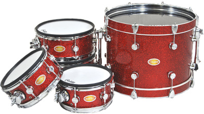 drum-tec Diabolo Meshead Set - Red